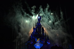 Alice Disney Dreams (thatdisneyprincess) Tags: light sleeping paris castle water beauty fireworks alice disneyland magic disney dreams wonderland eurodisney dlrp