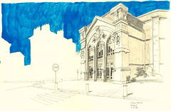 Elbeuf (lolo wagner) Tags: france sketch dessin rouen normandy croquis