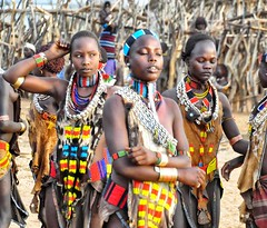 Hamer Tribe, Turmi (Rod Waddington) Tags: africa dance traditional dancer tribal omovalley ethiopia tribe hamer ethiopian turmi