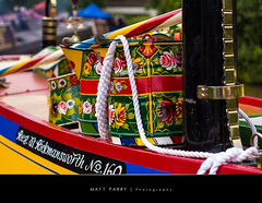 Canal colours (Matt Parry Photo) Tags: uk england canon boat canal colours cheshire colourful primary barge wateringcan narrowboat middlewich 60d mattparry