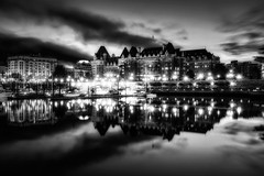 The Fairmont Empress (wrc213) Tags: life city travel people urban plant canada building history tourism stone architecture vancouver facade garden relax island hotel town cosmopolitan ancient topiary exterior flag famous north lawn formal entrance culture lifestyle vine landmark columbia victoria front tourist canadian business destination british leisure empress tradition creeper majestic luxury elegance thefairmontempress