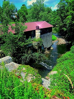 New Hope Mills Complex ~ New Hope NY ~ Historical ~ 1832