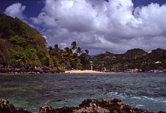 Friendship, Grenadines - Grenadines island chain - 1989 (Time Travel) Ektachrome 64 scanned (fxdx) Tags: friendship grenadines saintvincentnatureseagrenadines