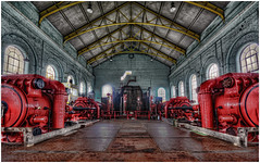 Engine shop  Astley Colliery. [Explore] (Stu115) Tags: museum manchester mine great engine coal colliery astley photoghers flickrsfinestimages1 flickrsfinestimages2