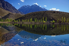 Morning Around Phandar Lake (IshtiaQ Ahmed revival to Photography) Tags: morning pakistan light mountain lake photography crystal small snowcapped waters treeline sheeps teru shandur ghizer ishkoman barsat phandar gupis ishtiaqahmed gilgitbaltistan