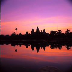 Magnificent Angkor Wat (Hong Khi) Tags: film zeiss mediumformat t 50mm cambodia fuji films slide dec hasselblad velvia f carl transparency medium format trans 50 f28 2012 planar reversal 2000fcw zeisscontest2012