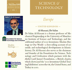 President of FSTC, One of the 500 Most Influential Muslims in 2012 (MuslimHeritage.com) Tags: news art history education technology events muslim culture engineering science literature environment mathematics medicine law goldenage inventions geography agriculture scholars economy civilisation scientist islamic discoveries curriculum manuscripts artofliving muslimheritage 1001inventions musicscience ce4tf