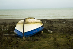 reverse boat (Ayhan Suleyman) Tags: blue green water canon 50mm boat reverse wwb