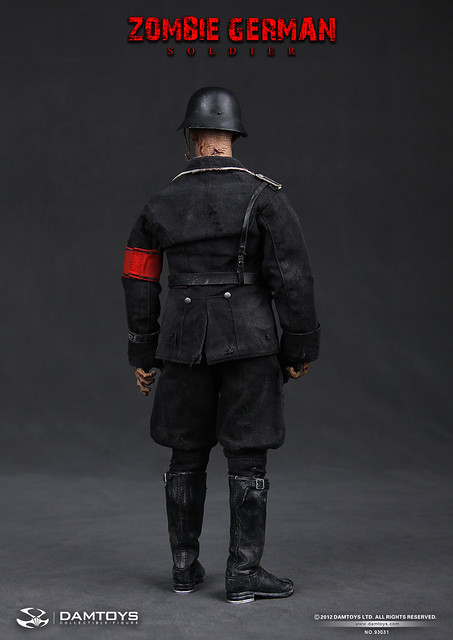 Dam Toys - 1/6 德軍士兵殭屍
