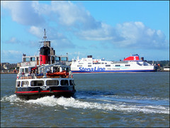 TWO FERRIES. (tommypatto ~ IMAGINE.) Tags: ferry liverpool birkenhead ferries pierhead autofocus rivermersey ferryacrossthemersey rememberthatmomentlevel1 rememberthatmomentlevel2