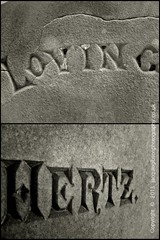 Play on words (Jacquie Akroyd) Tags: uk bw cemetery loving photography bradford yorkshire hertz rattesalat jacquiegibson jacquieakroydphotography jacquieakroyd