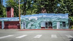 Concrete Police Station (RandomConnections) Tags: cascades northerncascades skagitcounty skagitriver washington