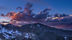 Last beautiful gasp (Bill Bowman) Tags: sunset indianpeaks mountaudubon paiutepeak virga niwotridge mountainresearchstation southernrockymountains