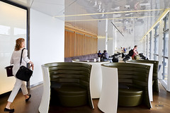 Private Solus chairs (A. Wee) Tags: cathaypacific  thebridge  lounge hongkong hkg    china