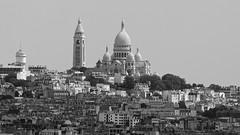 Sacre Coeur (shutterBRI) Tags: paris parisian sacrecoeur france church hill blackandwhite bw monochrome travel 2014