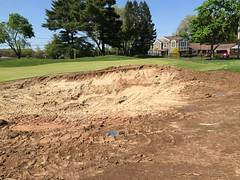 TPC River Highlands, Hole #9, Bunker Renovations (rbglasson) Tags: connecticut cromwell tpcriverhighlands landscape golf apple iphone6