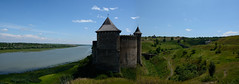 Fortress Khotyn and the river Dniester (intui.pro) Tags: old town architecture fortress nature reserve museum tourism towers palaces temples walls history strengthening ukraine outdoor plant stronghold citadel bastion fastness stone stones stonework text ruins tower canyon hill landscape panorama field grass khotyn