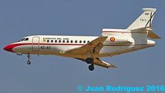 T18-3 - Fuerza Aerea Espaola (Spanish Air Force) - Dassault Falcon 900B - PMI/LEPA (Juan Rodriguez - PMI/LEPA) Tags: nikon d90 sigma 70200mm 80400mm pmilepa aeropuerto airport sonsanjuan sonsantjoan palma mallorca dassaultfalcon falcon fuerzaaereaespaola t183 ejercitodelaire aeroplano airplane plane aircraft