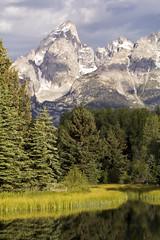 Grand Teton from Schwabacher's Landing v (nicoangleys) Tags: tetons grandtetonsnp nationalpark wyoming jacksonhole schwabacherslanding