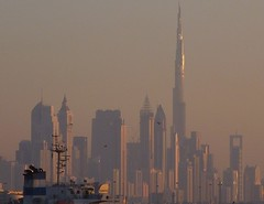 The future (BenZ-fotos) Tags: city building buildings cityscape sunset uae dubai middleeast unitedara unitedarabemirates arab burjkhalifa architecture 5photosaday haze hazy