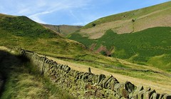 Not a soul in sight. (A tramp in the hills) Tags: blackden kinderscout derbyshire peakdistrict