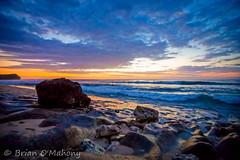 The Light Of The Shadow (Brian O'Mahony) Tags: beautiful bali sunset canon6d canon rocks coastal sea orange yellow blue balangan beach shore clouds dusk skyplay water sky south