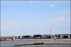 West Kirby Wirral  230816 (24) (over 4 million views thank you) Tags: westkirby wirral lizcallan lizcallanphotography sea seaside beach sand sandy boats water islands people ben bordercollie dog beaches reflections canoes rocks causeway yachts outside landscape seascape