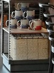 Starbucks mugs - Colmore Row (ell brown) Tags: starbucks colmorerow birmingham westmidlands england unitedkingdom greatbritain 125colmorerow coffee starbuckscoffee mobile mobileshots huawei huaweip9 mug mugs