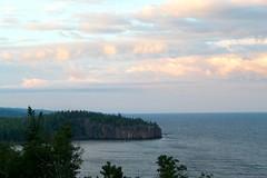 Gold Rock Point (Piedmont Fossil) Tags: splitrock minnesota lake superior rock cliff headland