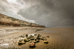 Quick trip to Hunstanton, Norfolk (Bob Foyers) Tags: wordpress foyersphotography 10stop overcast water beach cliffs hunstanton longexposure nd1000 norfolk sand sea