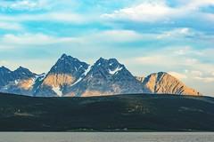 Arctic Sunsets (johannmarjeta) Tags: ocean sea sky mountains norway midnightsun nature landscape seascape arctic sunset