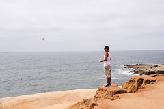 (gibellojennifer) Tags: jenngibello gibello streetphotography candid people drone pointloma sandiego sunsetcliffs cliffs ocean beach water sea recreation