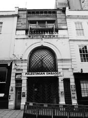 Palestinian Embassy, Bristol (duncan) Tags: bristol palestinianembassy