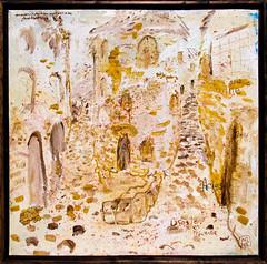 Lacoste en Provence (_Loaf_) Tags: loaf artasfood stuffedanimalbrigade buttermilkloaf art kunst arte contemporaryart contemporary streetart painting drawing sketch sketchbook canvas lacoste provence arles france boulangerie