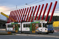 7081 MEL B 2113 Mt Alexander Rd 28 Aug 2016 (paddington62) Tags: melbourne yarratrams mtalexanderrd mtalexanderroad tram streetcar bclass citylink