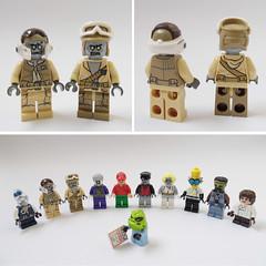 newbies #5 (Sweeney Todd, the Lego) Tags: lego monsters rock frankenstein zombie zombiedriver pizza hut marilyn monroe alien minifigure minifigures moc