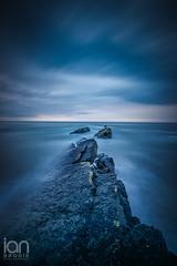 Howick Scar (ianbrodie1) Tags: howick scar rocks water longexposure northumberland sea seascape cloudsstormssunsetssunrises cloud rock outdoor nikon d750 haida 10 stop