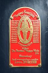 7492 Sentinel Shunter, Avon Valley Railway, Bitton, Gloucestershire (Kev Slade Too) Tags: 7492 sentinel shunter plaque avonvalleyrailway bitton gloucestershire