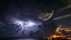 TimeLapse orage Milou (muscapix) Tags: orage storm stbarthpicture stbarth stbarthelemy lightning eclair tempesta tempte tempette lment lectricit lectron light clair cloud nuage ciel sky