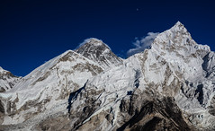 Everest and Nuptse (siorik) Tags: everest nuptse nepal mountain himalaya