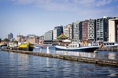 Autumn Amsterdam (siebe ) Tags: 2016 holland nederland netherlands siebebaardafotografie thenetherlands dutch scene scenery skyline amsterdam centrum herfst autumn cityscape stadsgezicht stad city water