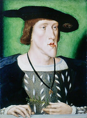 Later emperor Charles V with the famous Habsburg jaw, Habsburg lip or Austrian lip (petrus.agricola) Tags: london court roman or jaw royal charles carlos palace collection holy v collections karl windsor lip carlo hampton emperor later austrian empereur carolus imperatore habsburg emperador charlesquint