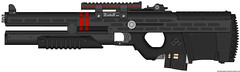 "Keagan & Beckett BR-48 Mk1 ""Theia"" (Cheshire Cat Alex, finally plays Stalker Clear Sky) Tags: beckett keagan mk1 pimpmygun br48"