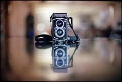 (Ansel Olson) Tags: camera light tlr film rolleiflex canon lens table virginia reflex dof kodak bokeh twin richmond va ft 100 automat rva ektar 55mmf12 autaut