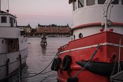 Docked for the night (martin.sth) Tags: fujifilm fujinon skeppsholmen 35mmf14 xpro1 fujifilmx fujifilmxpro1
