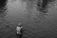 The Ripples of Life (bmahesh) Tags: blackandwhite india water canon temple pond chennai mahesh tamilnadu kanchi kulam kanchipuram templetank canonef24105mmf4isusm varadharajaperumaltemple canon550d canoneos550d bmahesh morningpooja