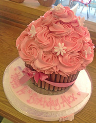 Pretty Pink Giant Cupcake