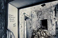 DON'T FORGET YOUR PAST (inhiu) Tags: light lightpainting heritage abandoned monument rock night dark concrete mono nikon decay room basement dream dramatic surreal ufo communist communism bulgaria memory romantic moved unreal epic destroyed shipka buzludzha buzludja d7000 inhiu forgetyourpast