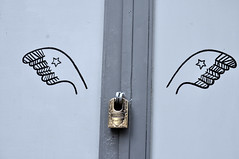 Ornate lock (Roving I) Tags: houses homes art design hands doors vietnam mindy decor hochiminhcity hcmc padlocks