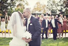 """My big, fat ITALIAN wedding"" (oohvelocitygirl) Tags: wedding love happy 50mm groom bride nikon kiss f14 marriage excited celebration d800 bigday"